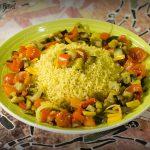 Cous Cous di verdura al profumo di agrumi