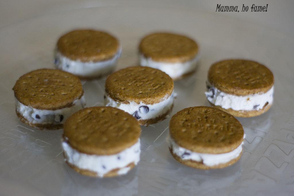 Dolci estivi veloci: i biscotti gelato