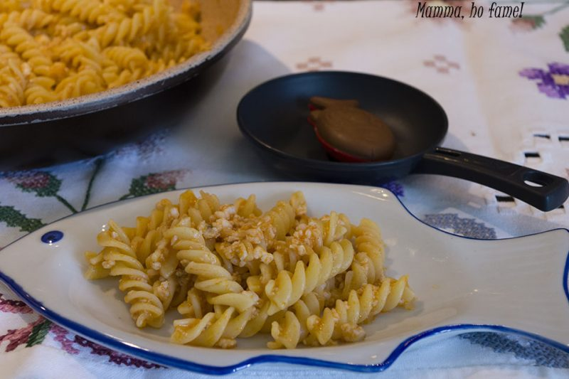 Pasta con pesce per bambini – ricetta facile