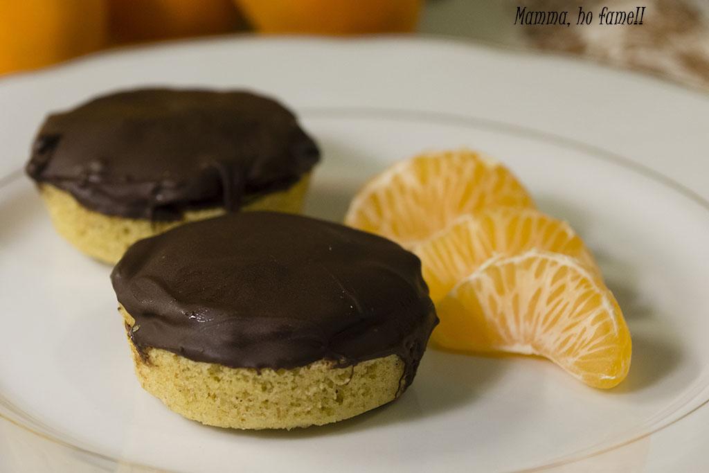 mini Jaffa cake - ricetta Re-Cake