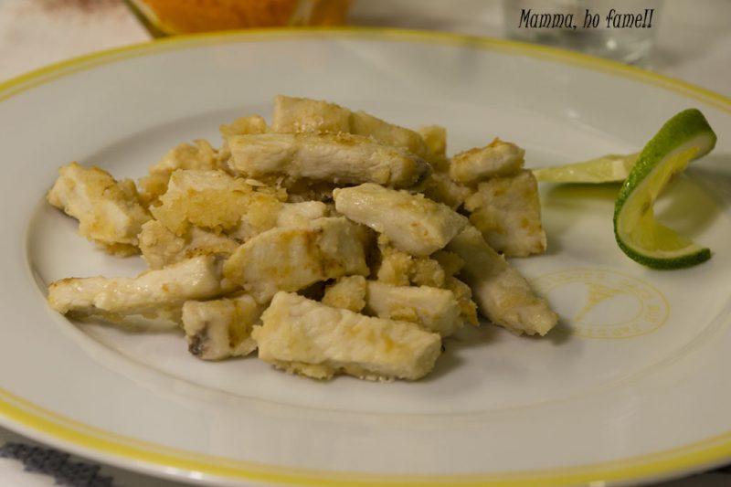 Straccetti di pollo al limone – ricetta veloce