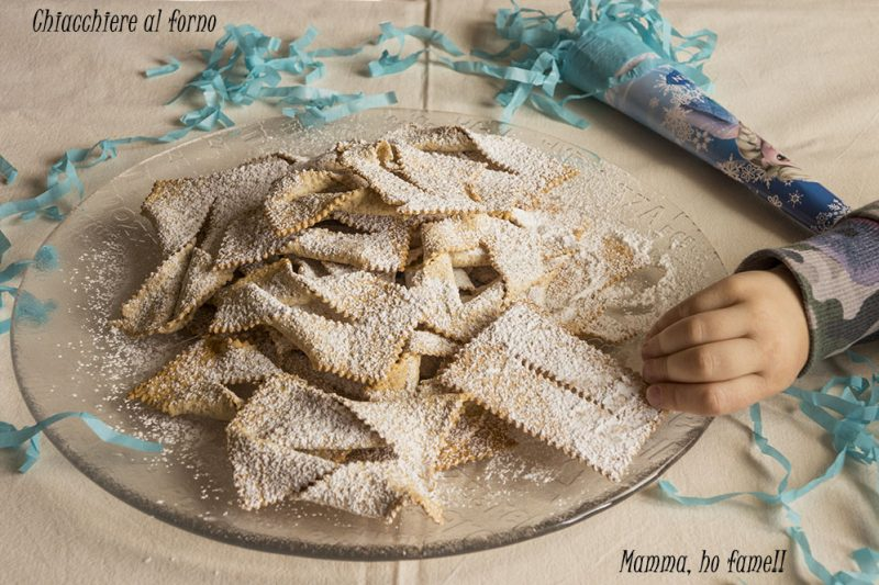 Chiacchiere al forno – ricetta di carnevale
