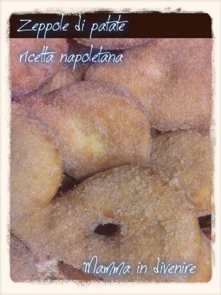 Le zeppole di patate ricetta napoletana