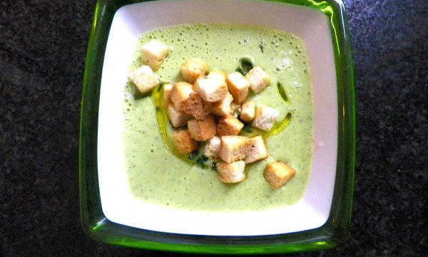 Finta vellutata di zucchine