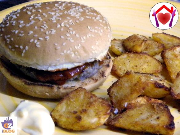 Favoloso Hamburger di manzo e maiale   Le ricette di mamma Lù IC39