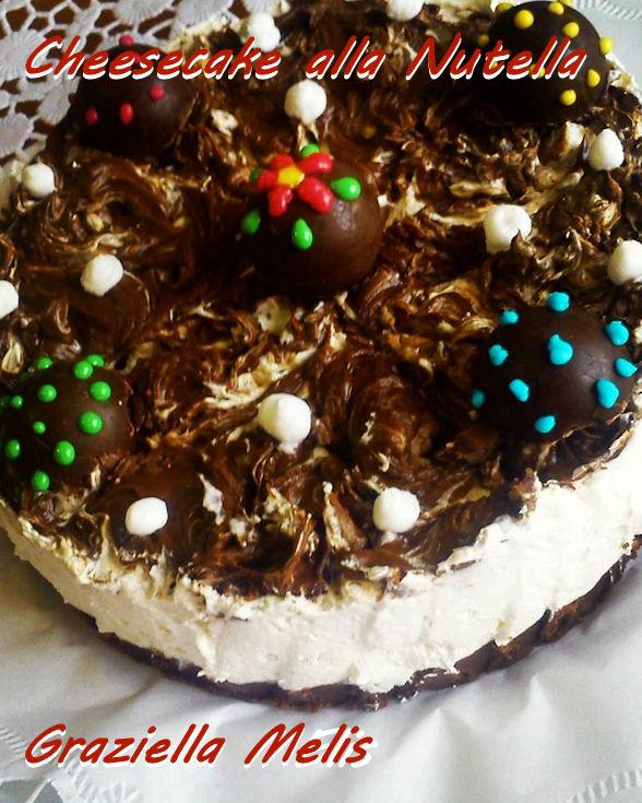 Cheesecake alla nutella Graziella Melis mod