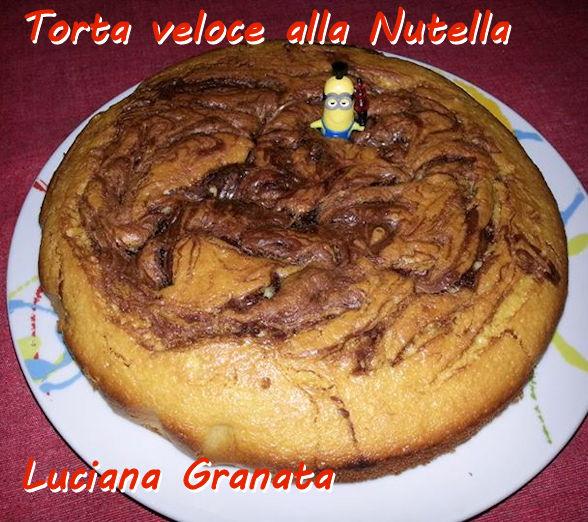 Dolce veloce alla Nutella - Luciana Granata Mod