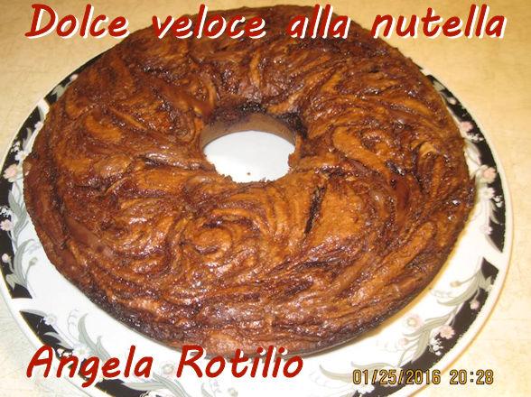 Dolce veloce alla nutella - Angela Rotilio mod