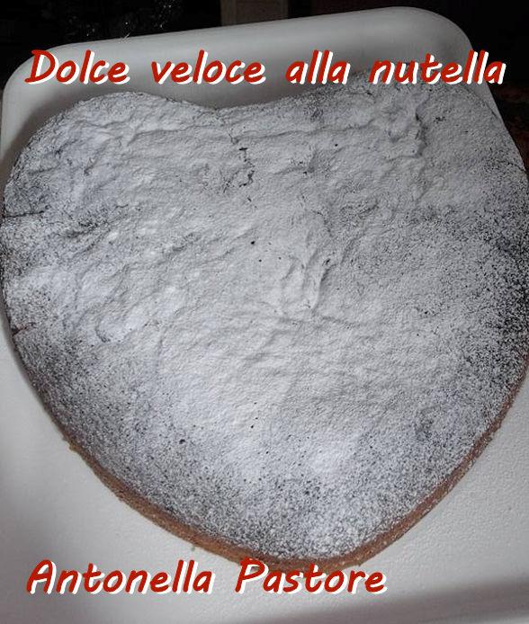 Dolce veloce alla nutella - Antonella Pastore mod
