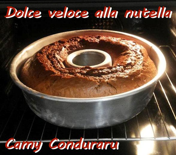 Dolce veloce alla nutella Camy Conduraru mod