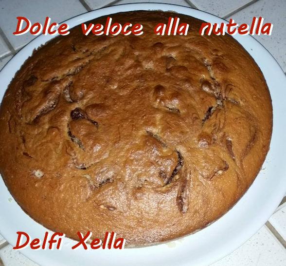 Dolce veloce alla nutella - Delfi Xella mod