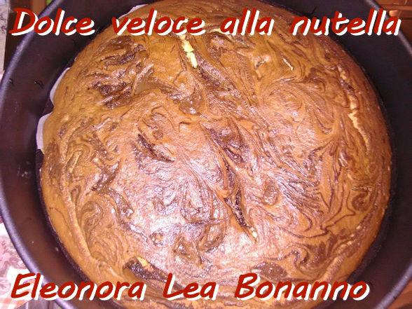 Dolce veloce alla nutella - Eleonora Lea Bonanno mod