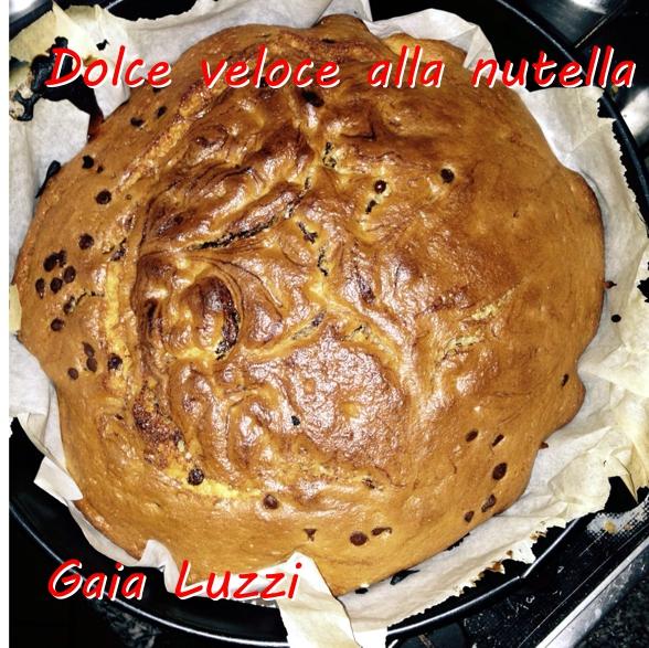 Dolce veloce alla nutella - Gaia Luzzi mod