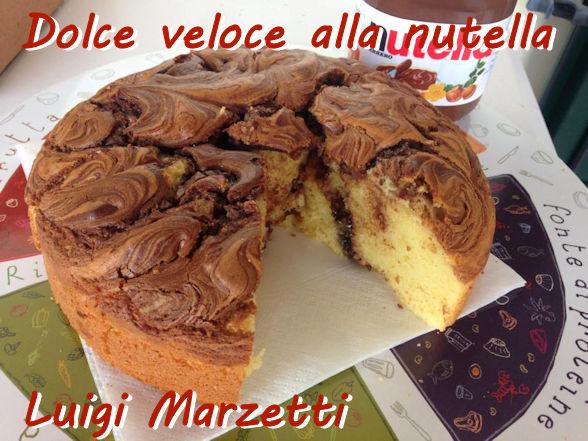 Dolce veloce alla nutella - Luigi Marzetti mod