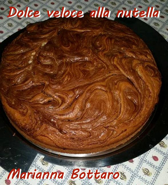 Dolce veloce alla nutella - Marianna Bottaro mod