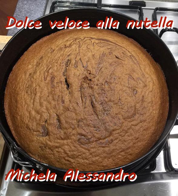 Dolce veloce alla nutella - Michela Alessandro mod