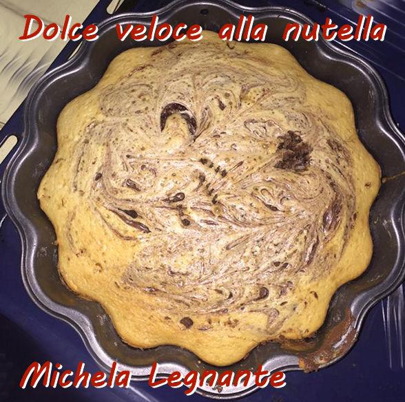 Dolce veloce alla nutella - Michela Legnante mod