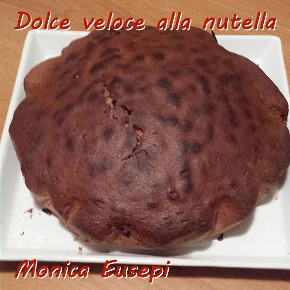 Dolce veloce alla nutella - Monica Eusepi mod