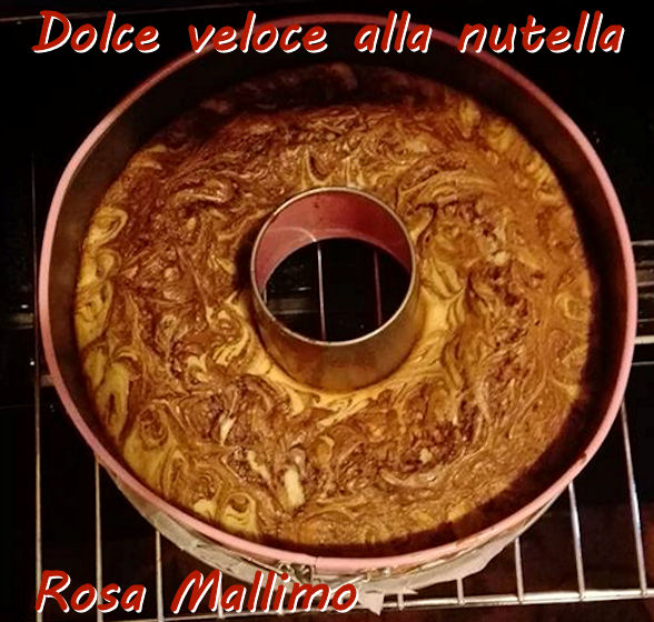 Dolce veloce alla nutella - Rosa Mallimo mod