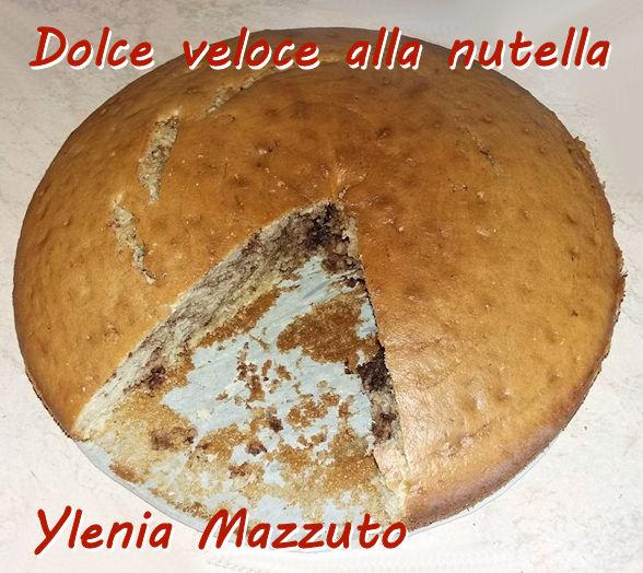 Dolce veloce alla nutella - Ylenia Mazzuto mod