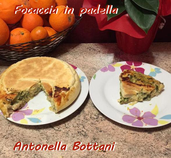 Focaccia in padella Antonella Bottani mod
