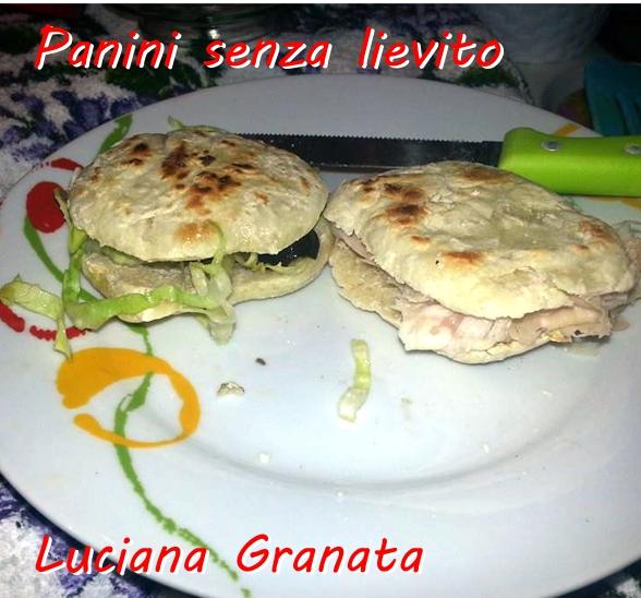 Panini senza lievito - Luciana Granata mod