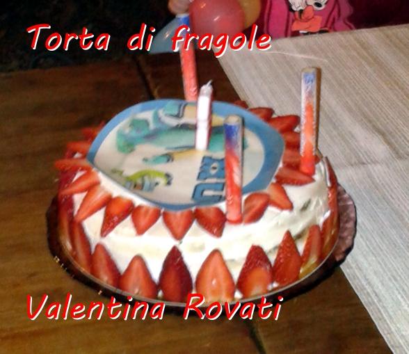 Torta di fragole - Valentina Rovati mod