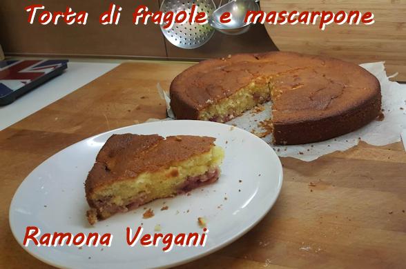 Torta fragole e mascarpone Ramona Vergani mod