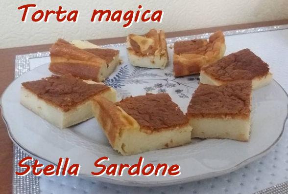 Torta magica Stella Sardone mod