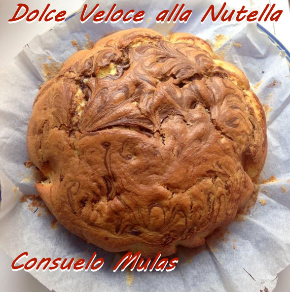 dolce veloce alla nutella Consuelo Mulas mod