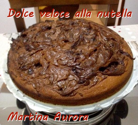 dolce veloce alla nutella - Martina Aurora mod
