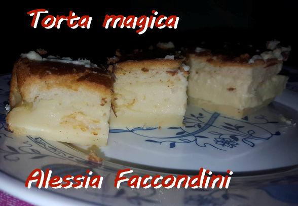 torta magica Alessia Faccondini modù