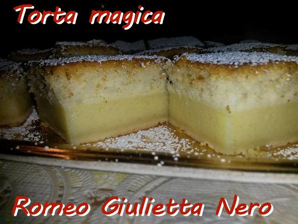 torta magica Romeo Giulietta Nero mod