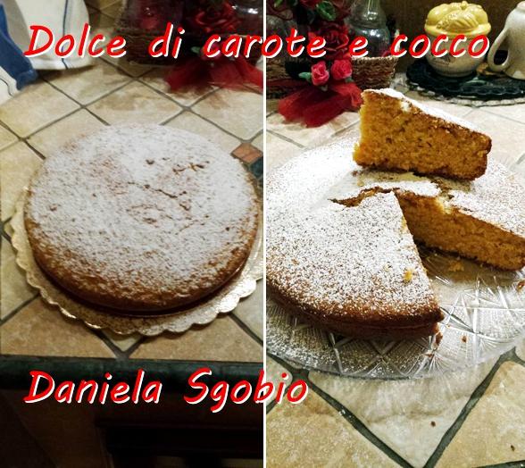 Dolce di carote e cocco - Daniela Sgobio mod