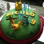 Torta Pokemon Go