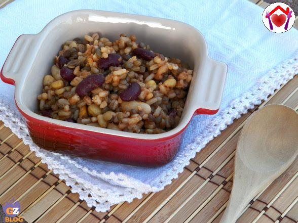 Imbrecciata - zuppa umbra di legumi e cereali