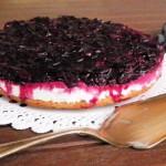 Cheesecake all'uva fragola