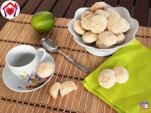 Biscitti lime e cocco