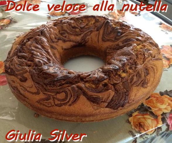 Dolce veloce alla nutella Giulia Silver mod