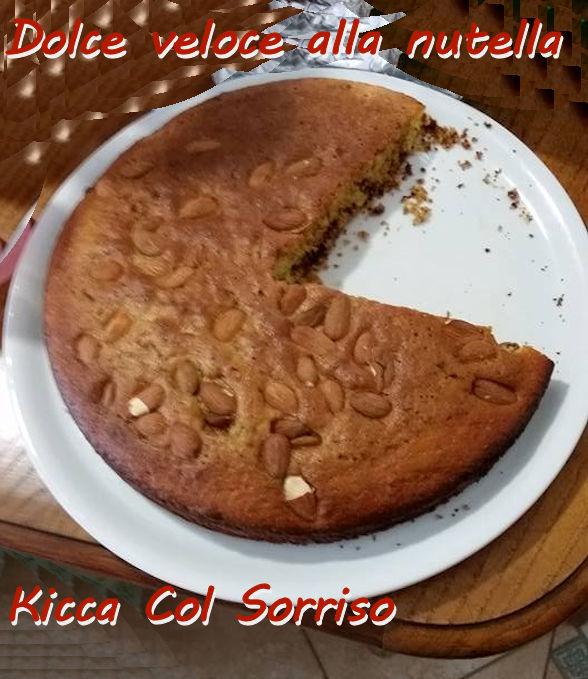 Dolce veloce alla nutella Kicca Col Sorriso mod