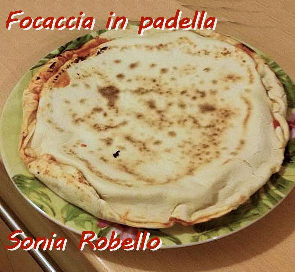 Focaccia in padella Sonia Robello mod