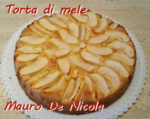 Torta di mele Mauro de Nicola mod