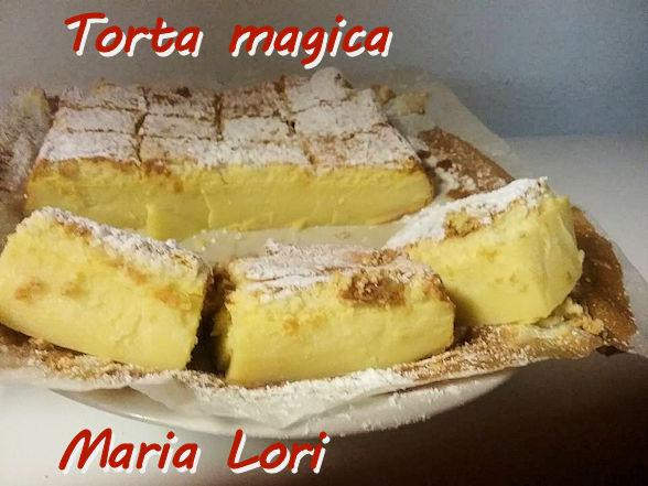 Torta magica Maria Lori mod