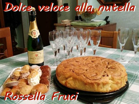 Torta veloce alla nutella Rossella Fruci mod
