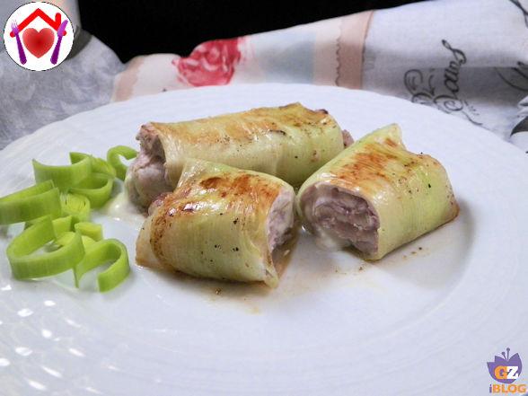 Involtini di arista e aglio porro le ricette di mamma l for Aglio porro