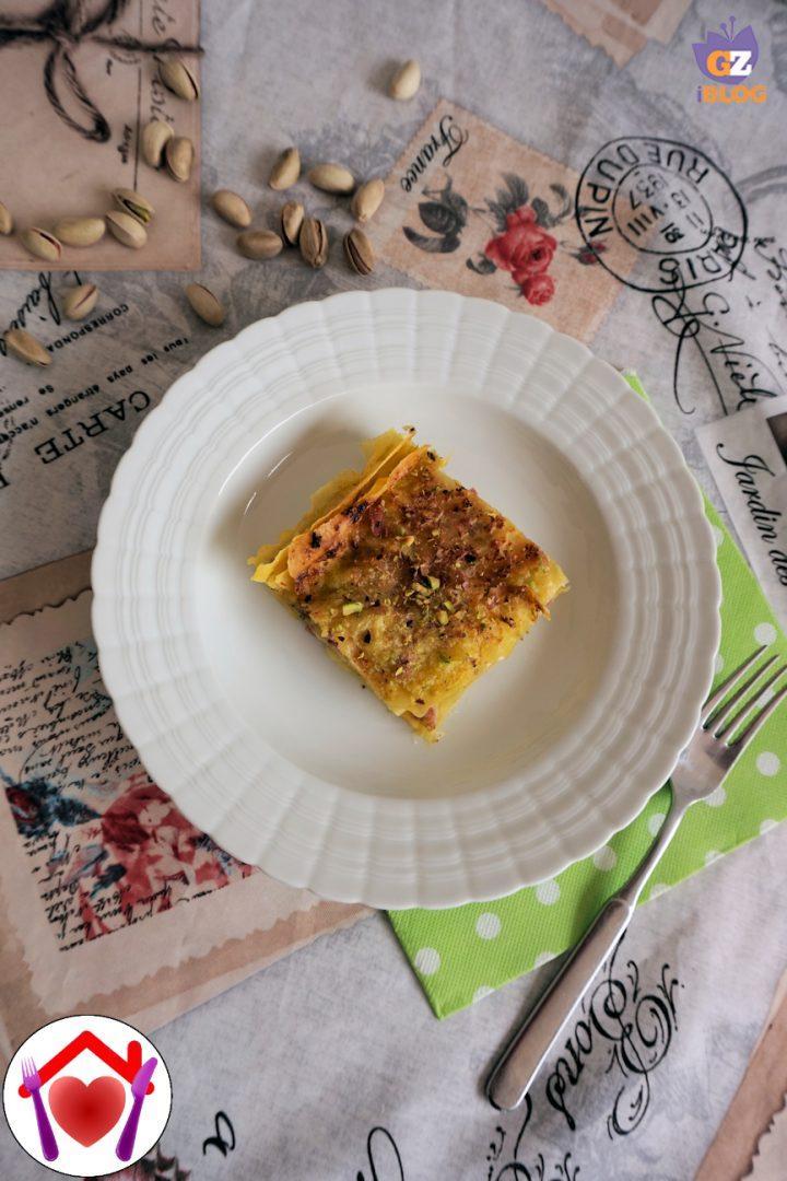 Lasagne con mortadella e stracchino