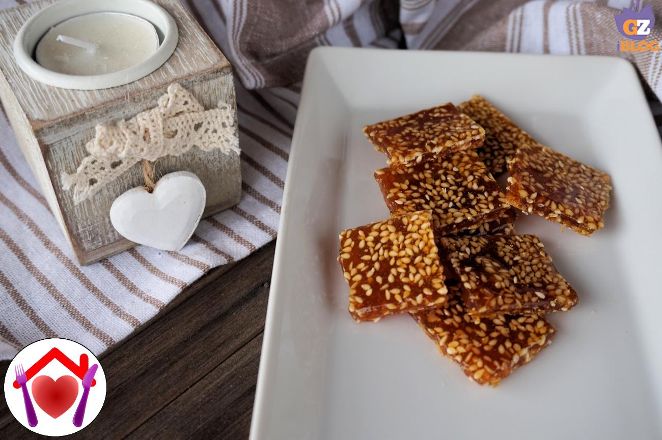 caramelle al miele e sesamo ricetta ed ingredienti dei
