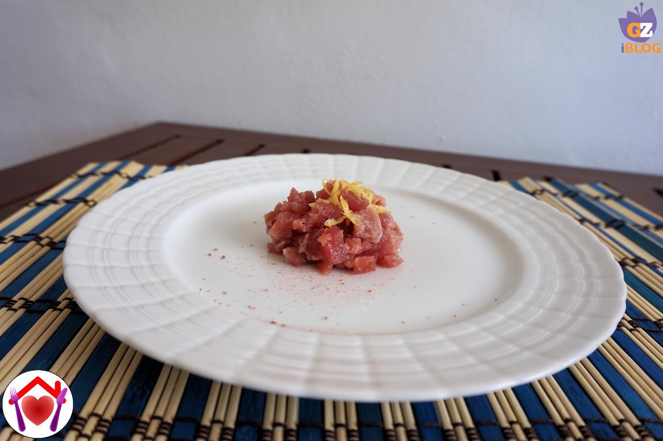 Tartare di tonno al limone