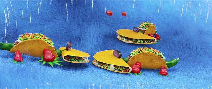 Tacodrilli di Piovono Polpette2 #AnimatedFood