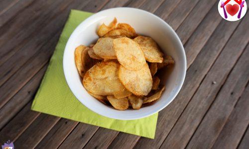Patatine croccanti alla paprika – senza frittura